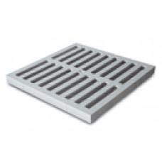 Решетка пластиковая к водоприемнику серая 300*300 артикул 4726