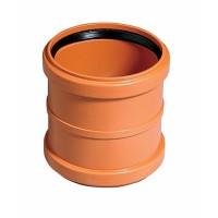 Муфта двойная KGMM  для наружной канализации диаметр 110