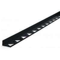 Бордюр  пластиковый черный  L3000 (Россия)