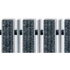 Придверная решетка Евро текстиль совмещенный с скребком 390х590