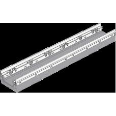 BGF-Z Мелкосидящий лоток DN100, с оцинкованной насадкой, h 100, без уклона