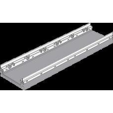 BGF-Z Мелкосидящий лоток DN200, с оцинкованной насадкой, h 100, без уклона