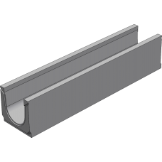 BGU Универсальный лоток DN150, № 5-0, без уклона