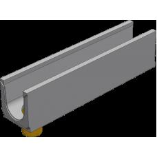 BGU Универсальный лоток DN150, № 10-0, с вертикальным водосливом, без уклона