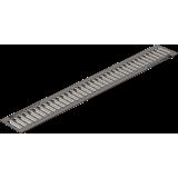 Решетка водоприемная РВ -10.13,6.100-штампованная стальная оцинкованная c отверстиями под крепеж артикул 508/1