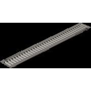 Решетка водоприемная РВ -10.13,6.100-штампованная стальная оцинкованная c отверстиями под крепеж арт