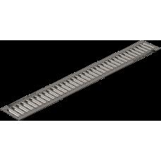 Решетка водоприемная РВ -10.13,6.100-штампованная нержавеющая сталь артикул 503