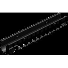 Лоток водоотводный ЛВ-10.14,5.13,5- пластиковый артикул 800