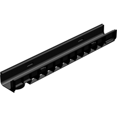 Лоток водоотводный ЛВ-10.14,5.10- пластиковый артикул 804