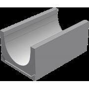 Бетонный водоотводный лоток BGU Универсальный DN400, № 0 без уклона