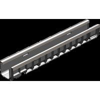 Лоток водоотводный Gidrolica Standart Plus ЛВ-10.14,5.12 - пластиковый (усиленный) артикул 8014