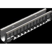 Лоток водоотводный Gidrolica Standart Plus ЛВ-10.14,5.18,5 - пластиковый (усиленный) артикул 8024