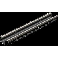 Лоток водоотводный Gidrolica Standart Plus ЛВ-10.14,5.08 - пластиковый (усиленный) артикул 8034