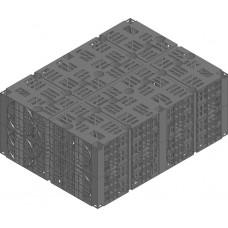 DRAINFIX®BLOC, Инфильтрационный элемент, до SLW 60 Размер 1, черный, из PP, объем 146 л
