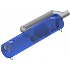 AQUAFIX®- SKG2BP Коалесцентный сепаратор с грязеуловителем и двойным байпасом SKG2BP 015