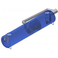 AQUAFIX®- SKGBP Коалесцентный сепаратор с грязеуловителем и байпасом SKGBP 015