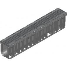 SPORTFIX®BASEL NW 100 тип 010 с решеткой GUGI , MW 15/25, черн., в сборе