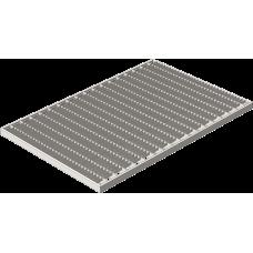 Решетка стальная 390х590 (ячейка) артикул 301